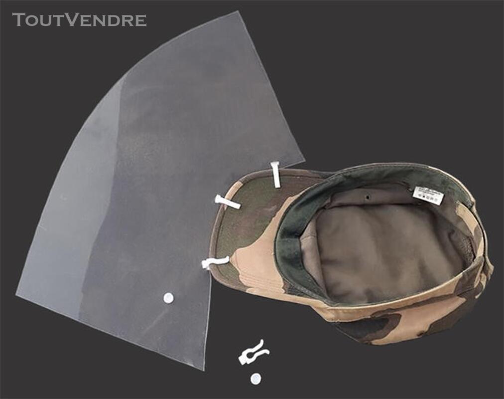 Clips Attache Visière de Protection sur Casquette 663646506