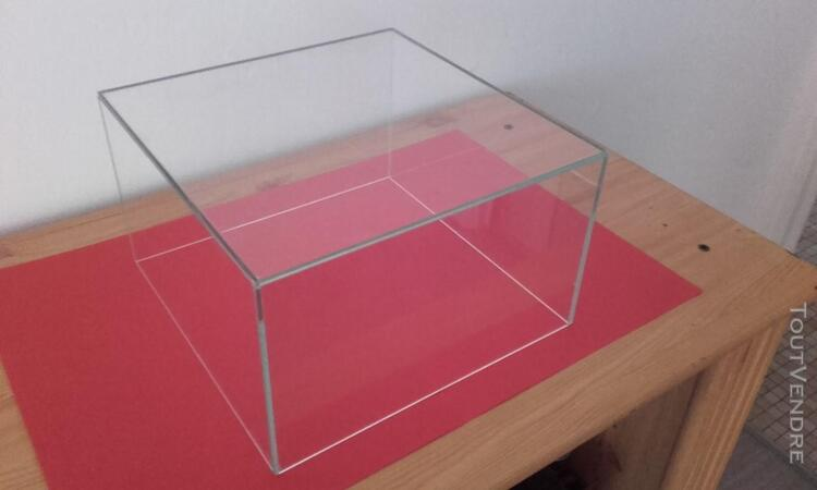 CLOCHE VITRINE DE PROTECTION 25x25x15 398016132