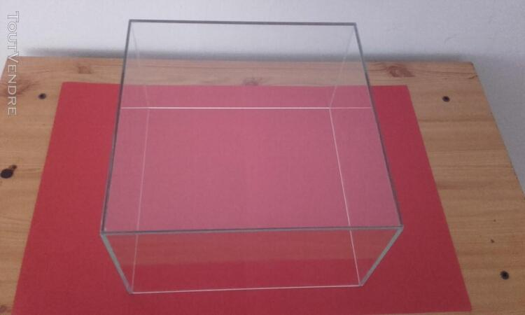 CLOCHE VITRINE DE PROTECTION 25x25x15 398016189