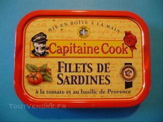 Cne COOK BOITE de COLECTION Sardines