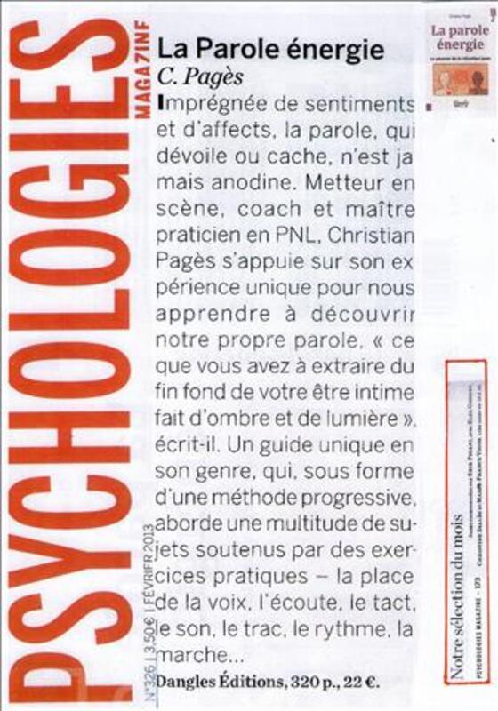 Coaching avec Christian Pagès 97901469