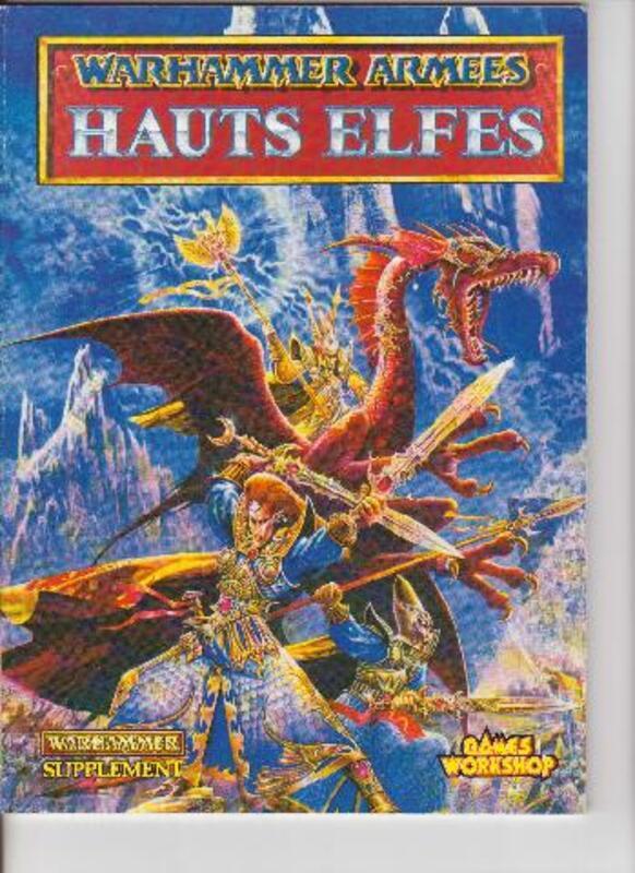 CODEX Hauts Elfes Warhammer 1993 93189540