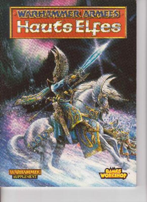 CODEX Hauts Elfes Warhammer 1997 93189030