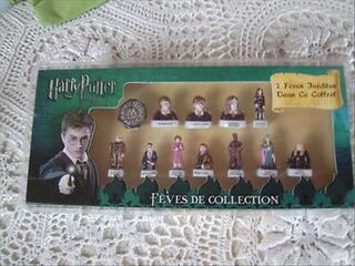 Coffret 12 fèves collector Harry Potter 2 inédites