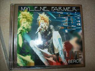 Coffret 2 cd mylene farmer live bercy