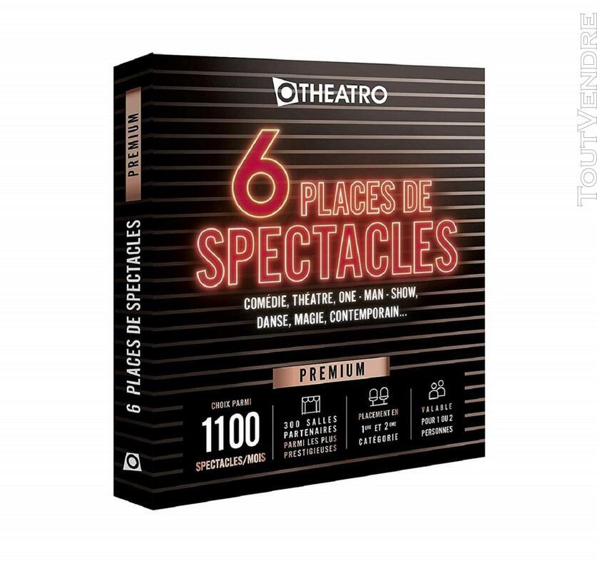 Coffret 6 Places de Spectacles Offre Premium 1100 Spectacles 656906535