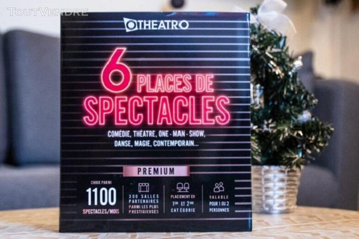 Coffret 6 Places de Spectacles Offre Premium 1100 Spectacles 656906538