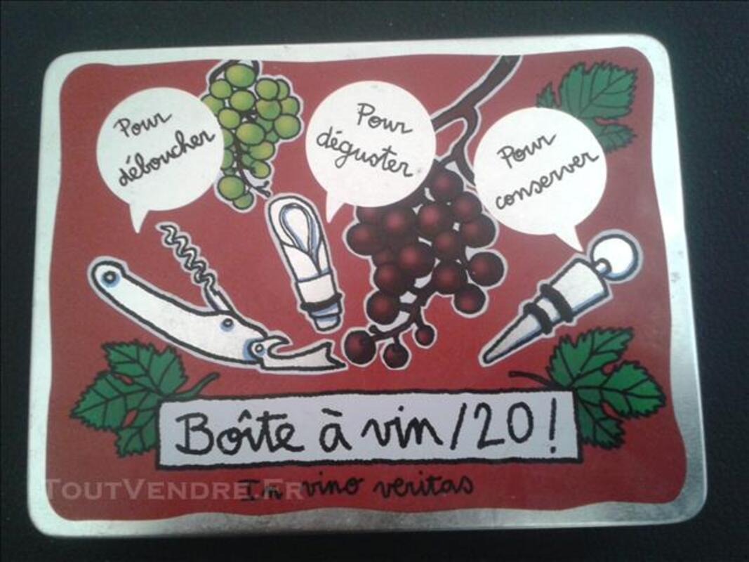 Coffret accessoires vin bouchon tir bouchon 76102553