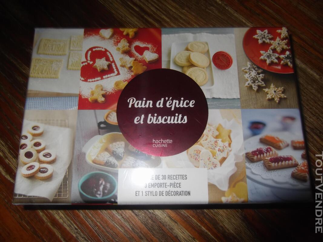Coffret cadeau HACHETTE - PAIN D'EPICES et BISCUITS - NEUF 155866749