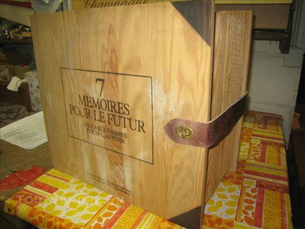 Coffret Collection Bois VOUVRAY 7 Bouteilles (RARE) 76198702