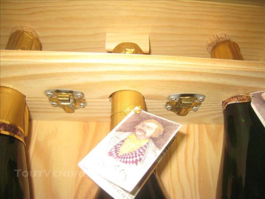 Coffret Collection Bois VOUVRAY 7 Bouteilles (RARE) 76198703