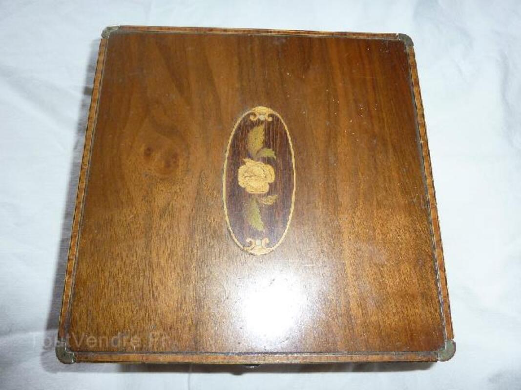 Coffret en marqueterie boite à bijoux 91477873
