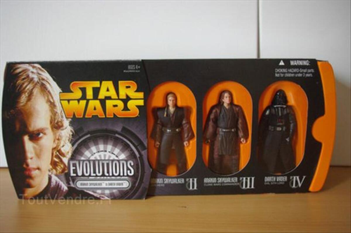 Coffret figurines star wars evolution 64489554