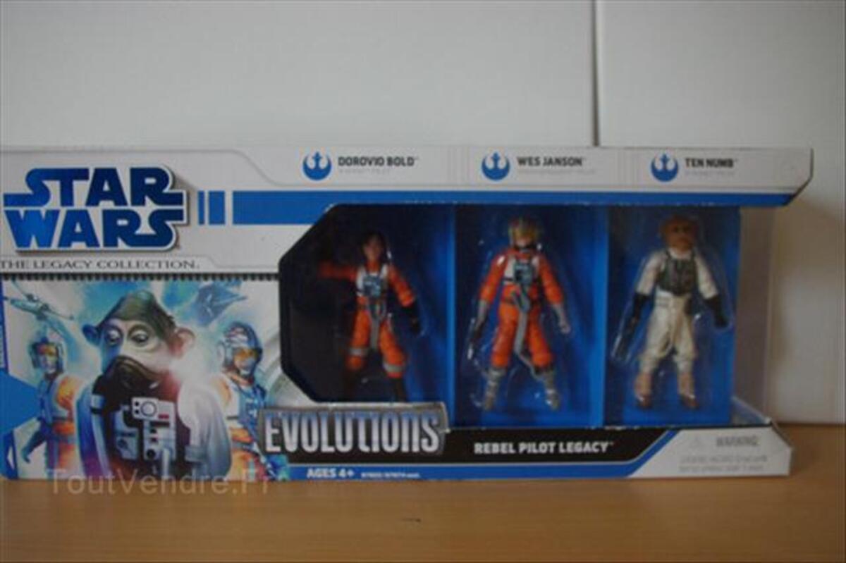 Coffret figurines star wars evolution 64489555