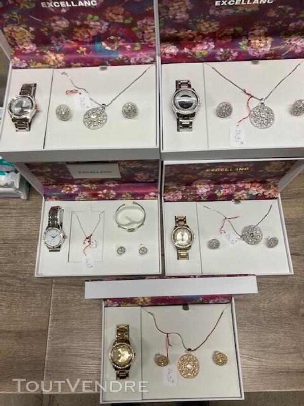 Coffret montre et bijoux femme 2490-2 717923977