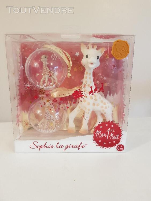 Coffret Sophie la girafe, Mon 1er Noel NEUF 642295134