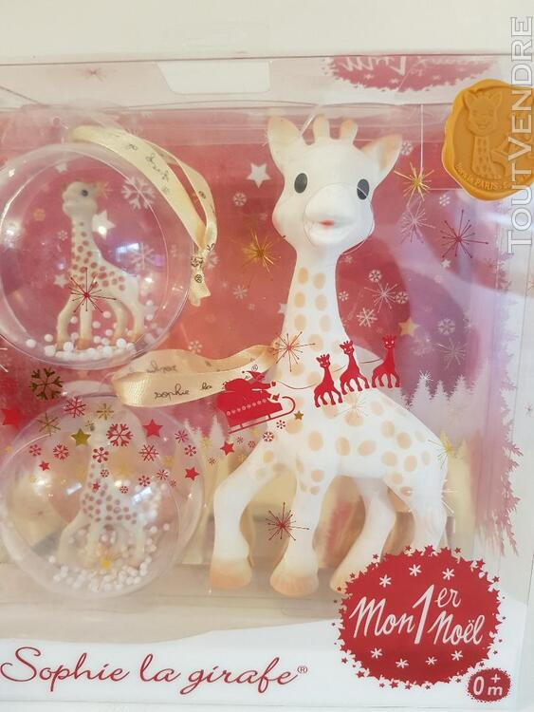 Coffret Sophie la girafe, Mon 1er Noel NEUF 642295227