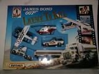 Coffret vintage de véhicules James Bond (Matchbox)