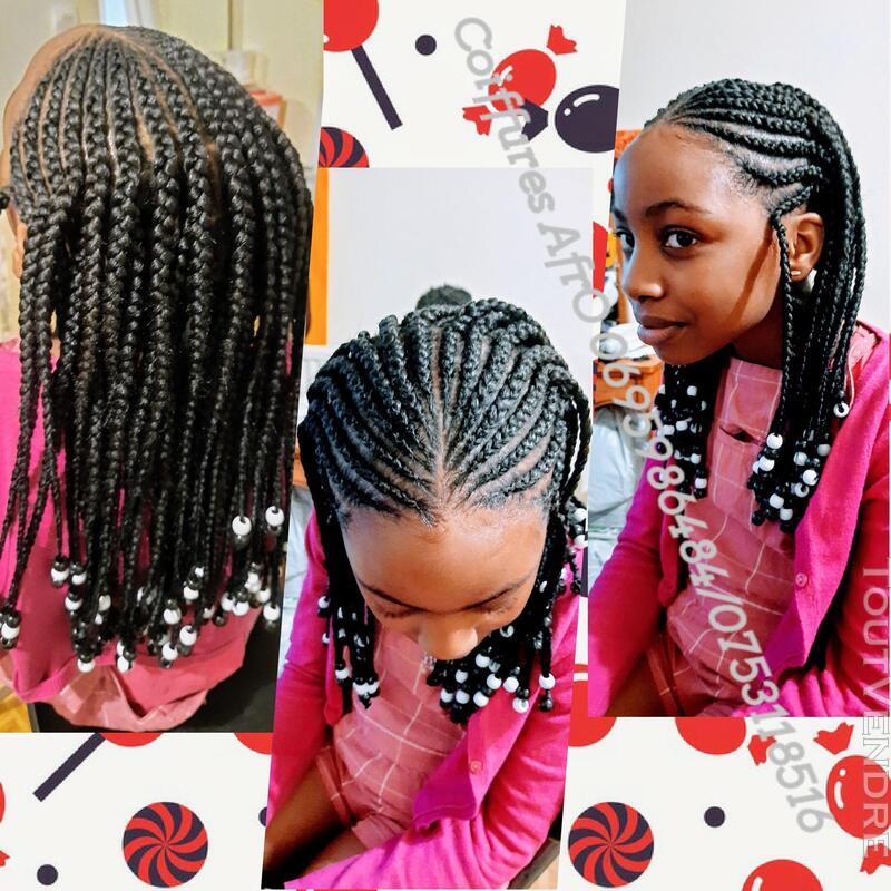 Coiffeuse Afro à domicile 755139833