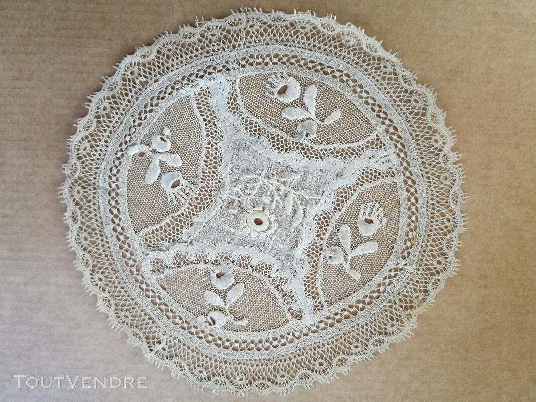 Collection Ancien Napperon Dentelle FaitMain 1ère série suxn 388488057