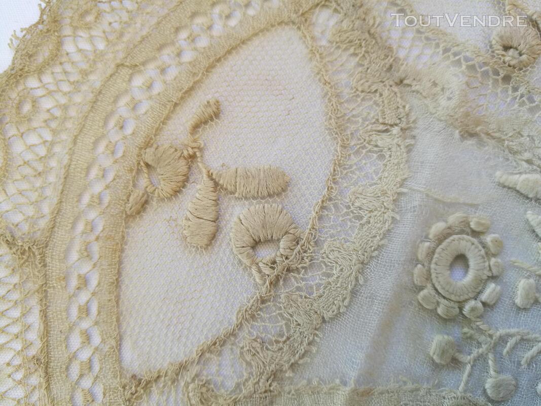 Collection Ancien Napperon Dentelle FaitMain 1ère série suxn 388488414