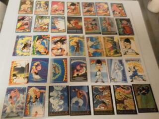 Collection cartes dragonball Z