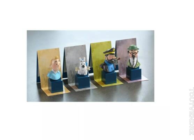 COLLECTION COMPLETE  DE 8 BUSTES TINTIN moulinsart hergé 472028057