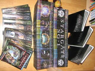 Collection complète Stargate SG1 (90 DVD)