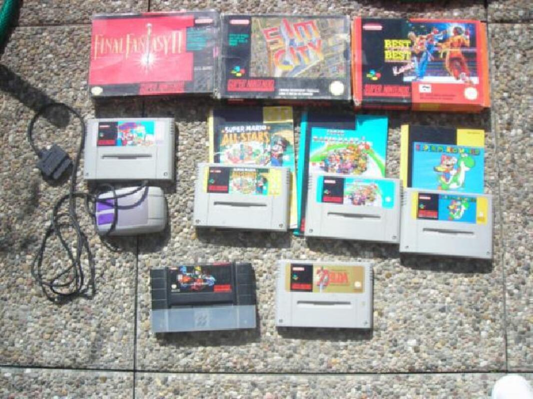 Collection de jeux Super Nintendo en loot ou à la carte 89474233