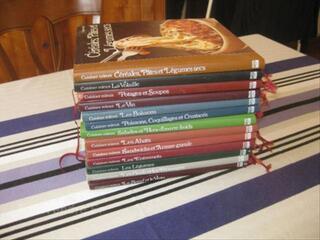 Collection de livre de cuisine 13 livres