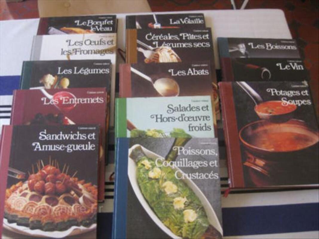Collection de livre de cuisine 13 livres 56466160