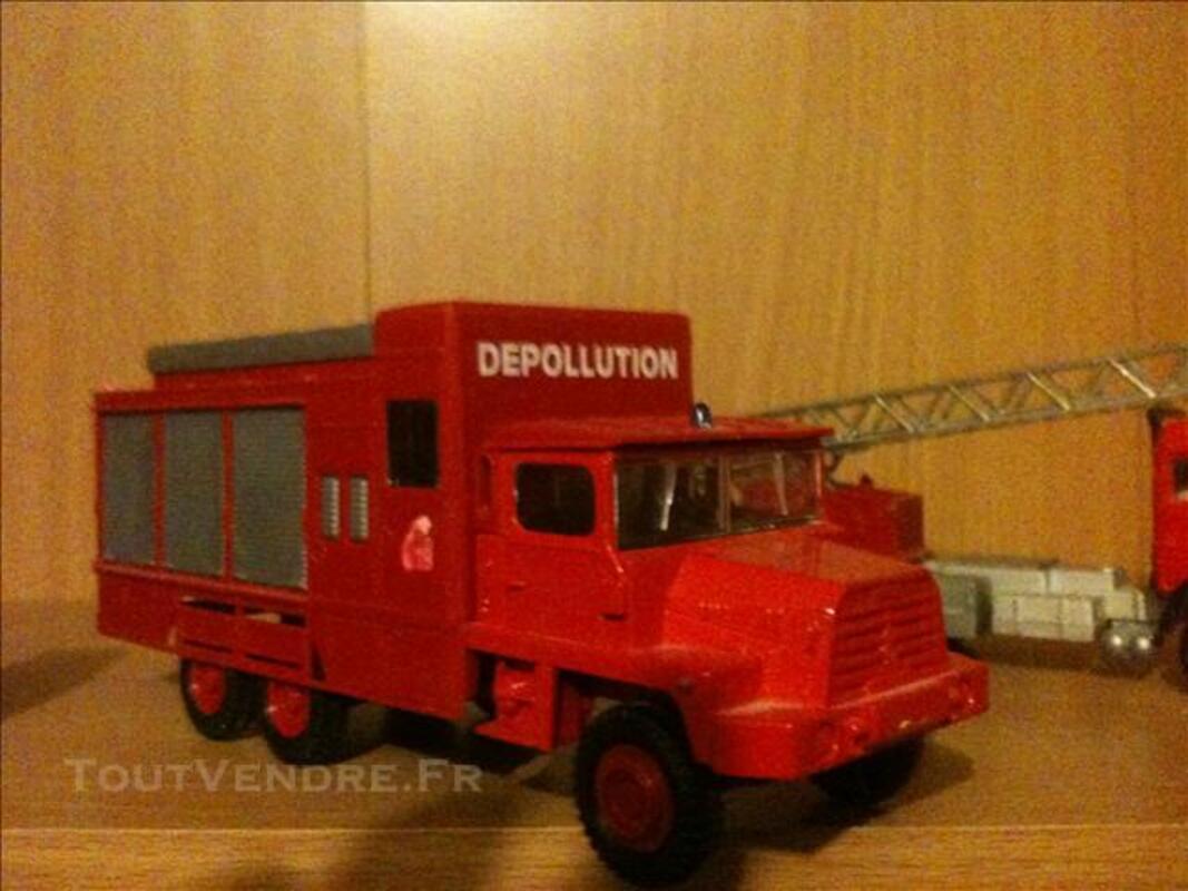 Collection de vehicule de pompier miniature 74341680