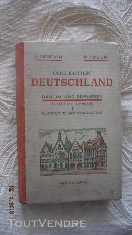 Collection Deutschland classe 4eB et moderne 261228617