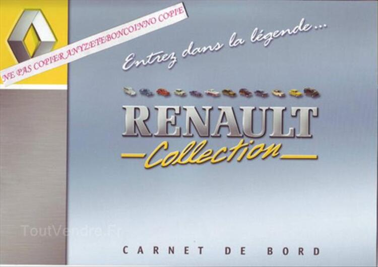 COLLECTION RENAULT FASCICULES M6 55896351