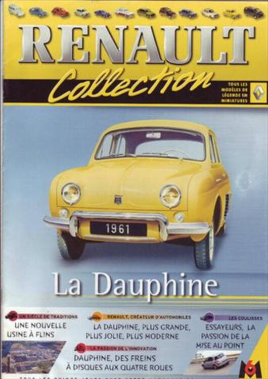 COLLECTION RENAULT FASCICULES M6 55896352