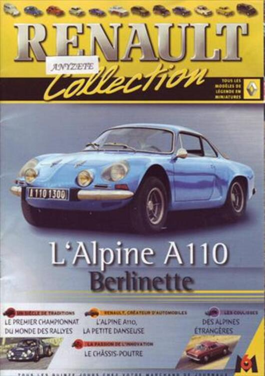COLLECTION RENAULT FASCICULES M6 55896353