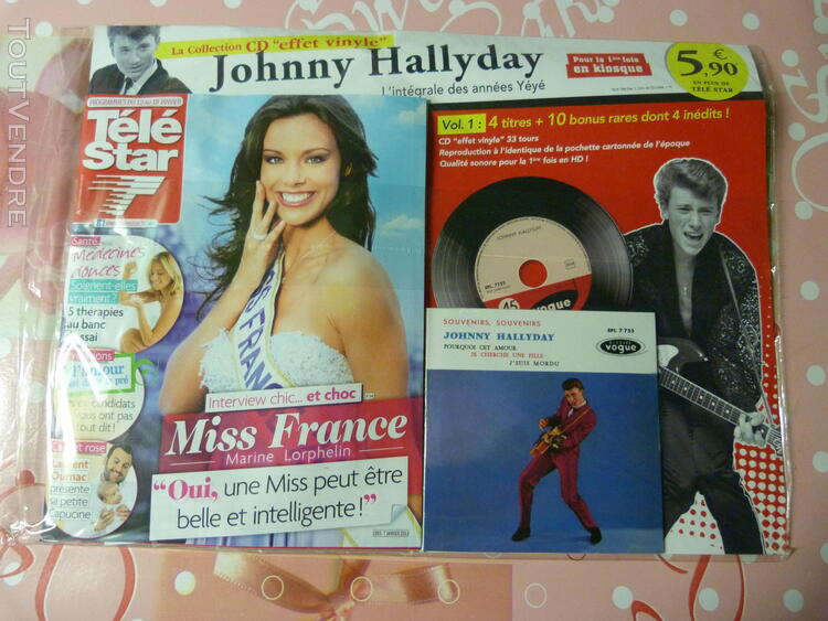 Collection tele star johnny hallyday 321015961