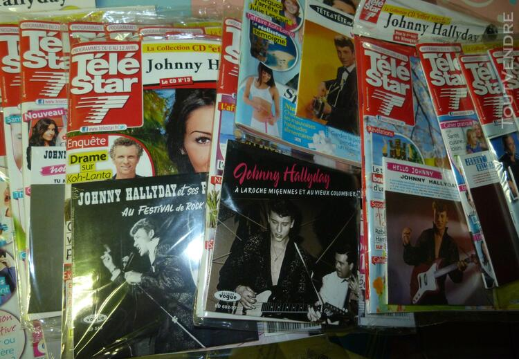 Collection tele star johnny hallyday 321015964