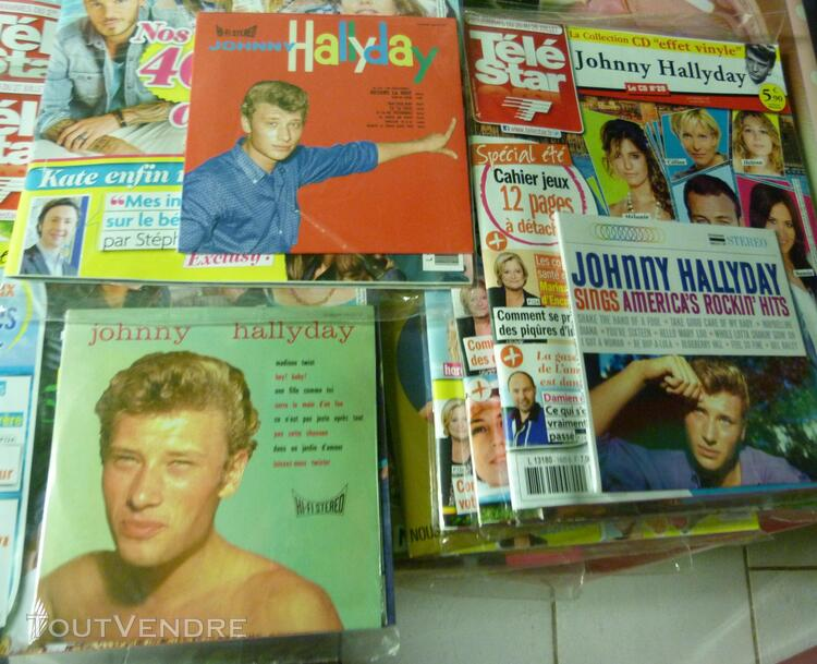 Collection tele star johnny hallyday 321015967