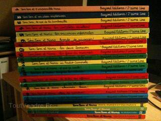 "Collection ""Tom-Tom et l'impossible Nana"" (23 livres)"