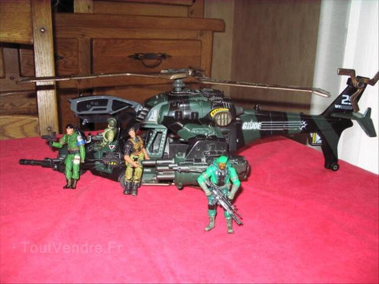 Collection vehicules + figurines GI JOE 56295603