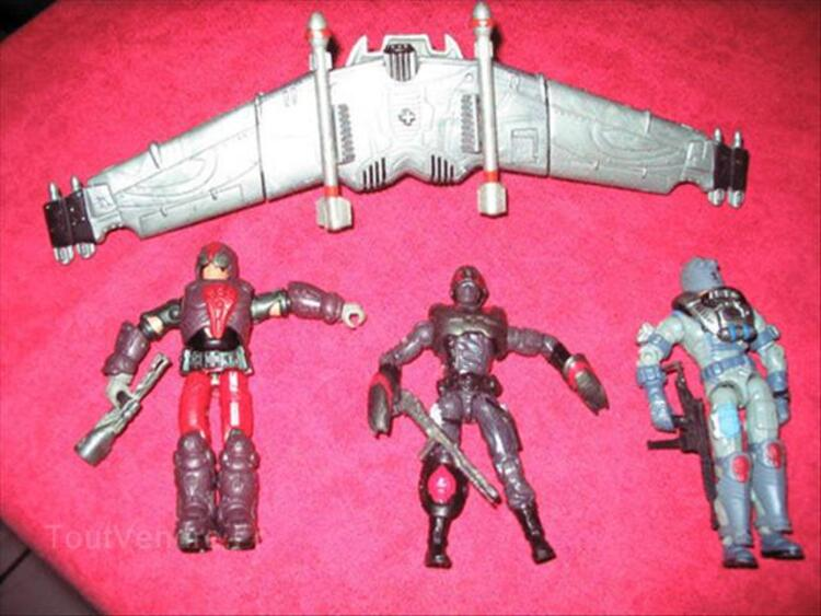 Collection vehicules + figurines GI JOE 56295605