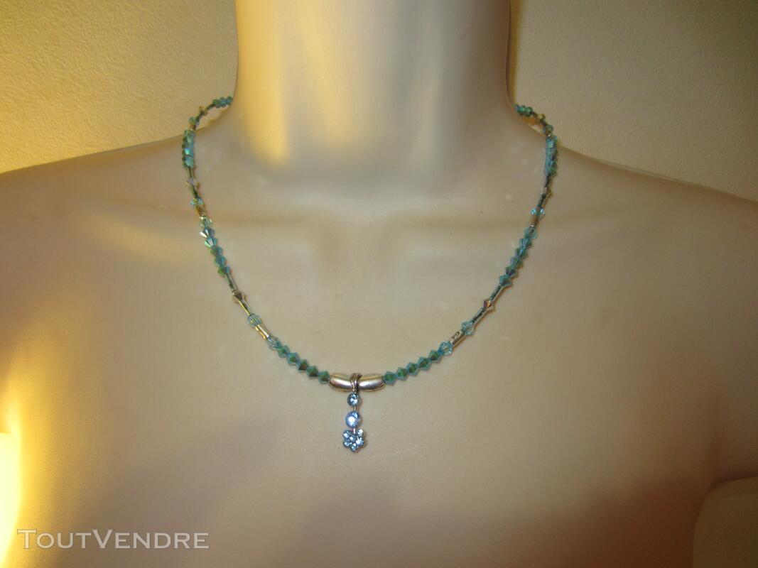 Collier Bleu 127177029