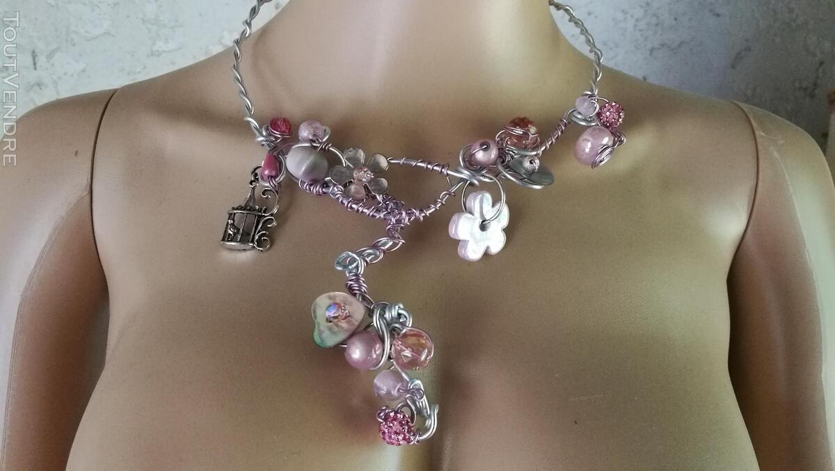 Collier Fantaisie Perles Nacre / Porcelaine / Verre suxn 430796291