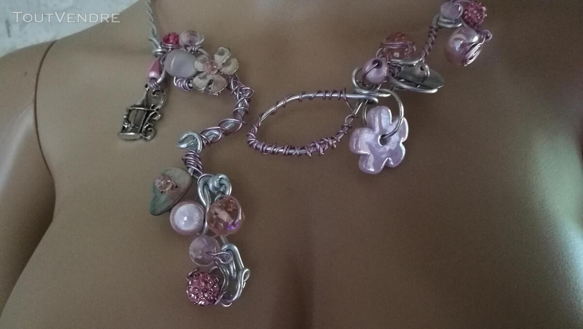 Collier Fantaisie Perles Nacre / Porcelaine / Verre suxn 430797791