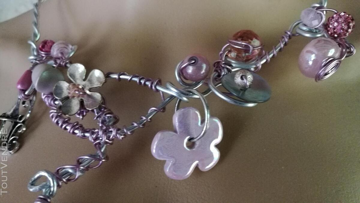 Collier Fantaisie Perles Nacre / Porcelaine / Verre suxn 430799051