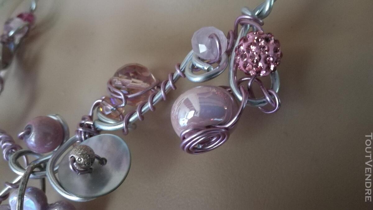 Collier Fantaisie Perles Nacre / Porcelaine / Verre suxn 430800713