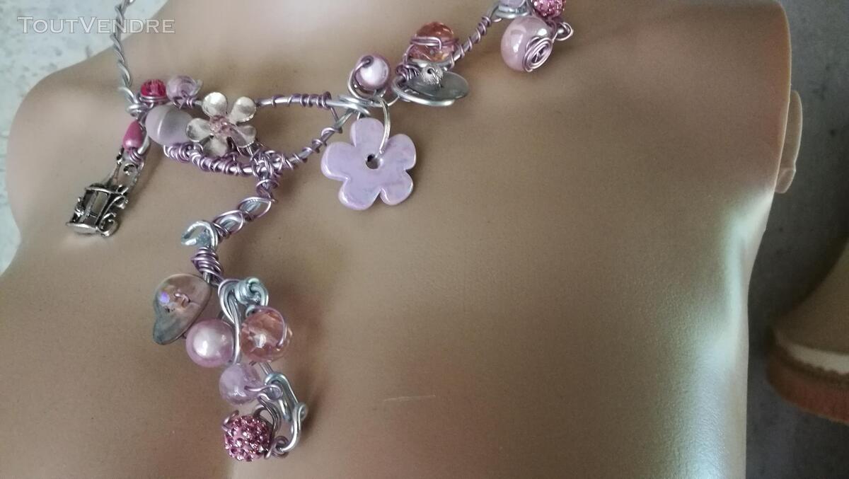 Collier Fantaisie Perles Nacre / Porcelaine / Verre suxn 430801892