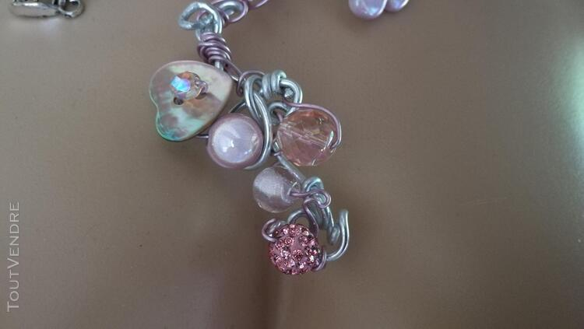 Collier Fantaisie Perles Nacre / Porcelaine / Verre suxn 430803164