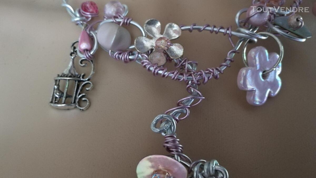 Collier Fantaisie Perles Nacre / Porcelaine / Verre suxn 430804898